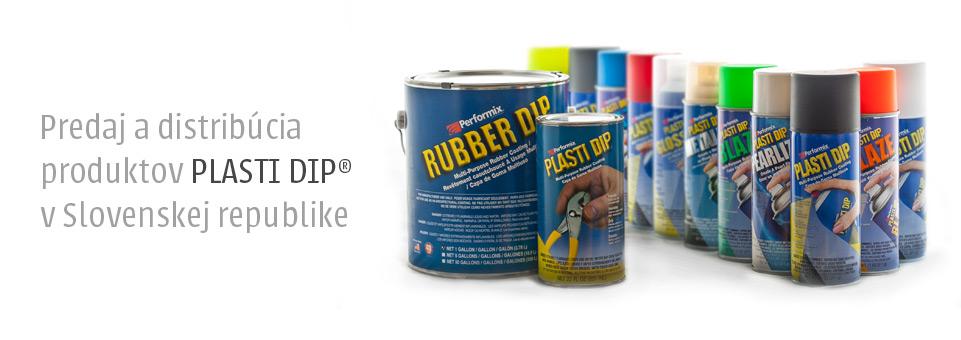 Oficiálny distribútor produktov Plasti Dip